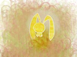 Yellow Bunny by noiselessness