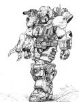 RIFTS NG Med Rescue White Knight Power Armor by ChuckWalton