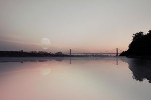 George Washington Bridge by johnmarchan