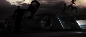 Batmobile Unleashed by wizzoo7