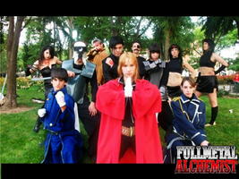 Fullmetal Alchemist - Beginning and end by HotaruBloody