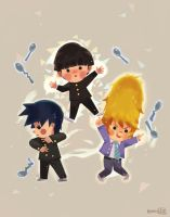 Mob Psycho 100 by hyamei