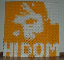 Dom Howard perler bead by Nevve