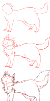 How To Draw A Warrior Cat by Sparkylovecupcakes
