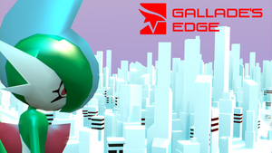Gallade - Mirrors Edge [3D MODEL] [HD] by TheModerator
