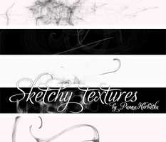 sketchy textures by PannaHerbatka