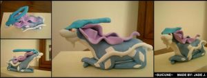 Suicune by Foureyedalien