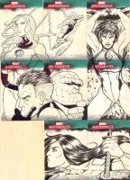 Marvel Sketch Cards 5 by martheus