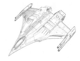 Shrike Interceptor by DissidentZombie