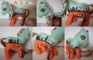 My little Pony Custom Arizona by BerryMouse