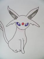 #196 Espeon by RJWoody
