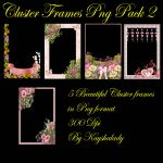 Cluster Frames Png pack 2 by kayshalady