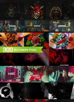 300 Watchers Pack by Lilith-Trash