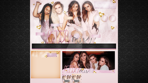 Premade for blog.cz (Little Mix) #2 by dailysmiley