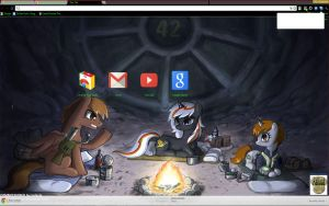 Fallout Equestria Chrome theme by Midnight-Page