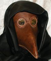 Plague Doctor 1 hood added by GriffinLeather