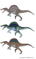 Spinosaurus Aegyptiacus Variations by March90