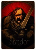 Sandor the hound dog by juliodelrio