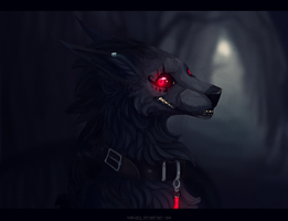 Nice smile at night by Vongrell