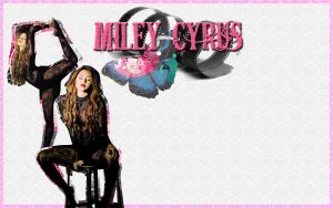 Wallpaper 5: Miley Cyrus by Lil-Plunkie