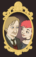 Mr and Mrs Moony by mickgordon