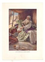 Vintage bible print - blessing by OMEGA86