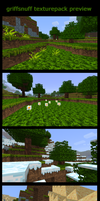 My minecraft texturepack by griffsnuff