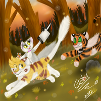 Corre Tass! Corre!! by Gabyss-A