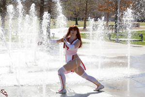 Kasumi Fountain Strike by HollyGloha