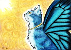Blue Mystic ACEO by starwoodarts