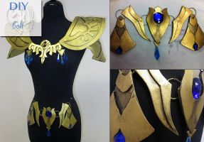 DIY Princess Zelda Armor by Lillyxandra