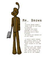 Mr. Brown for BootyMcBoots by samiikinns