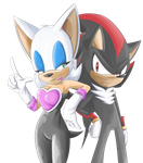 Rouge And Shadow by rouge2t7