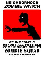 Neighborhood Zombie Watch by Ebola-Z