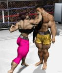 More Bare-Knuckle Boxing 1 by Stone3D