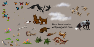 WolfPlayGame.com Decors by Aminirus