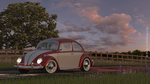 WV Bug 68' - Countryside by PaulV3Design