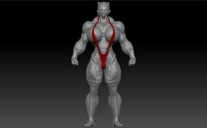 RIPPED MUSCLE KAT + MOVIE by B9TRIBECA