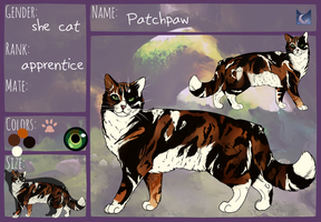 Patchpaw Ref by PatchyFallenstar