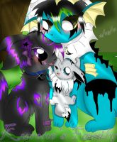 Eon Family by TheTaintedHeart