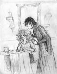 Snape and Hermione by Hillary-CW