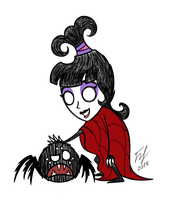 Dont Starve Lydia by Goldy--Gry