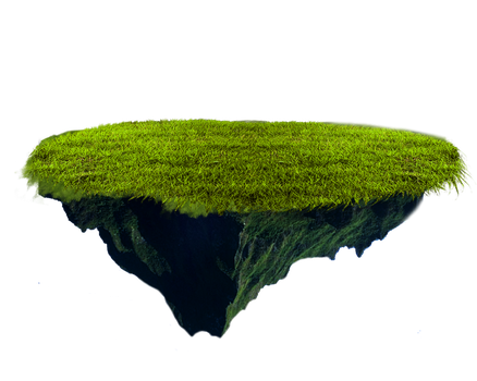 Png Floating Terrain by Moonglowlilly