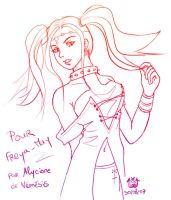 Free-Sketch for Freya-may by Alyciane
