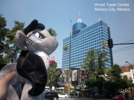 Octavia in the World Trade Center, Mexico City by DarkBrony181