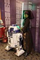 Luminara meets R2 by DarthWapoe