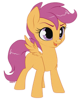 Scootaloo by nirac