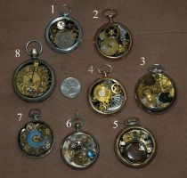 Steampunk Pocket Watch Pendants for Sale by Phoenix-Cry