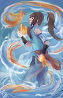 Korra Speedpaint by Kepidemic