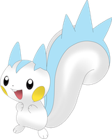 Pachirisu The Pokemon by xAloneWolfx